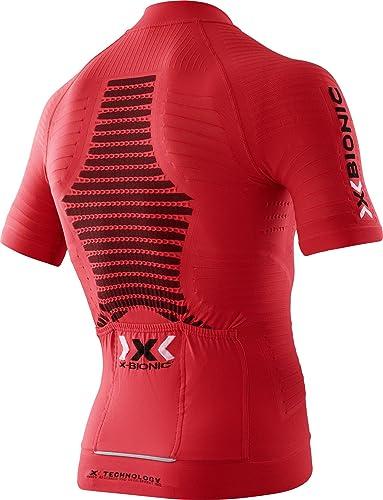 X-Bionic - Effektor Biking Powershirt S/S, Color Rojo, Talla S ...