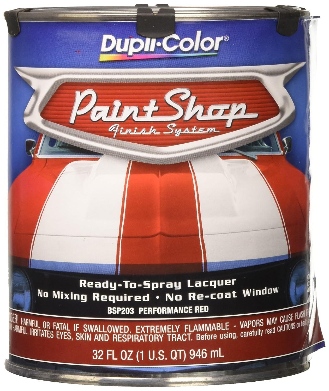 Amazon Dupli Color Bsp203 Red Paint Shop Finish System