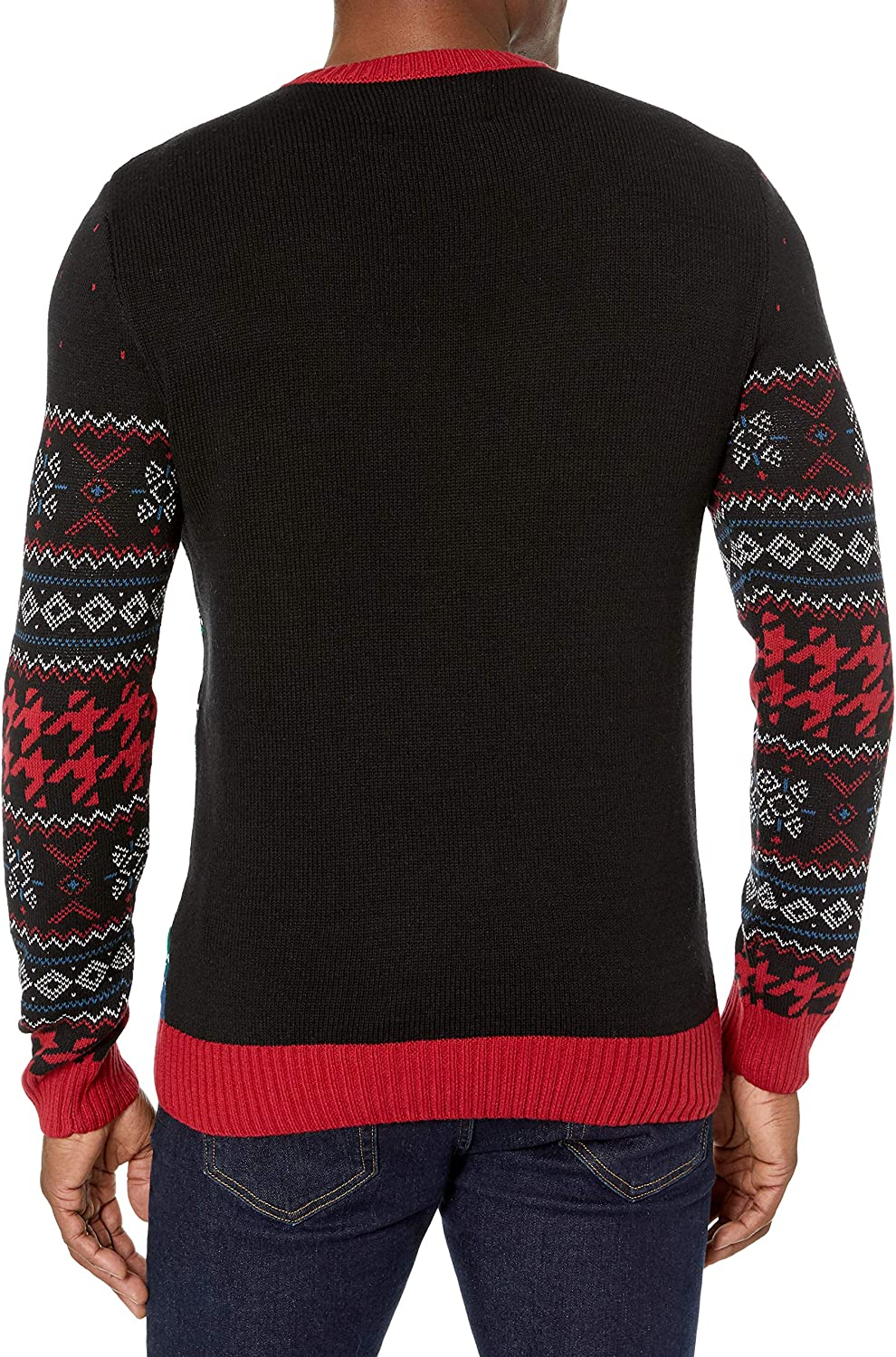 Ugly Christmas Sweater Company Mens Long Sleeve 7gg Crew Neck Sweater Pullover Sweater