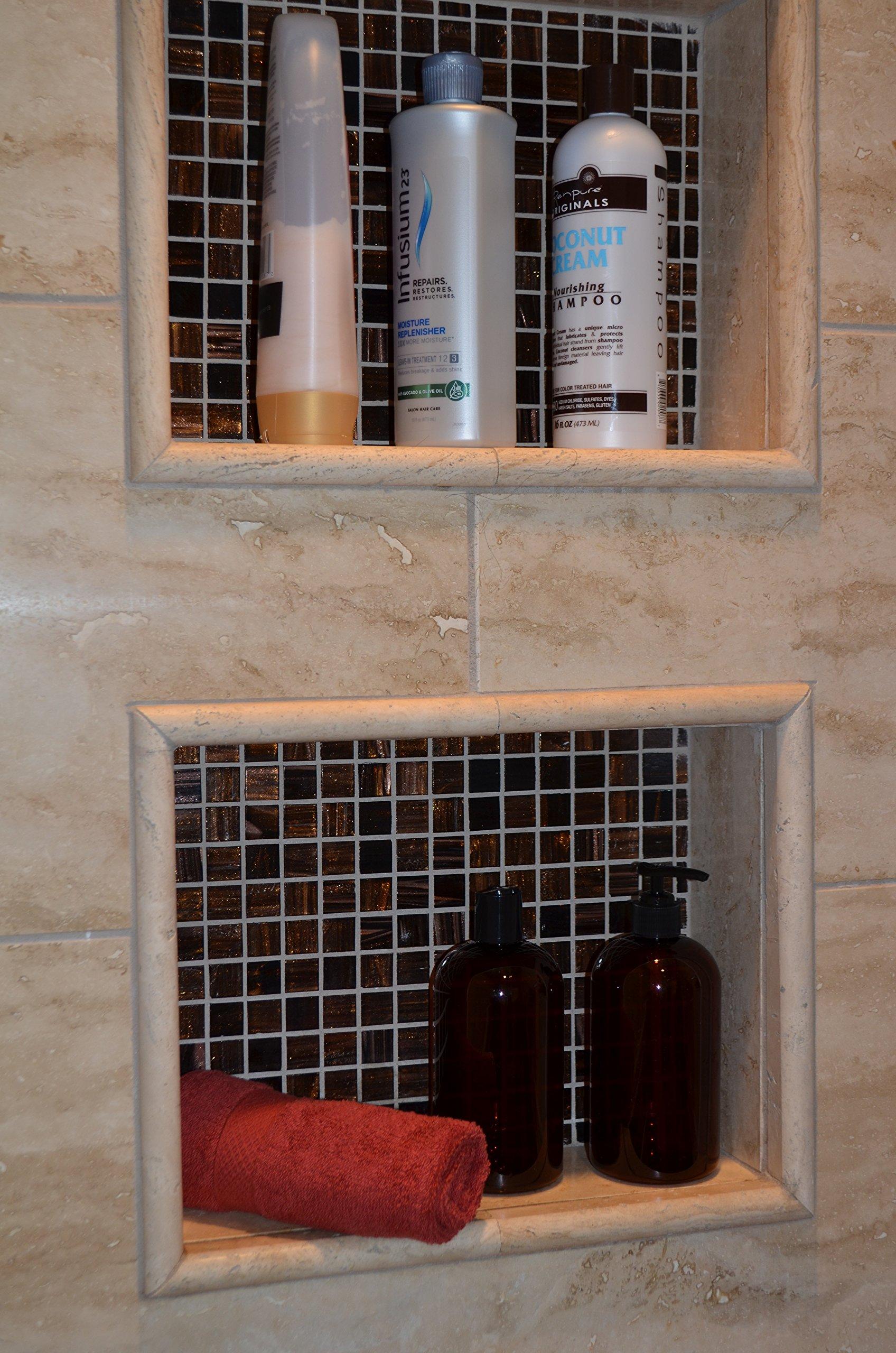 BAIRE Refillable Bottles - on shelf 1