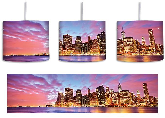 Skyline New York - Lámpara de techo con diseño del Empire ...