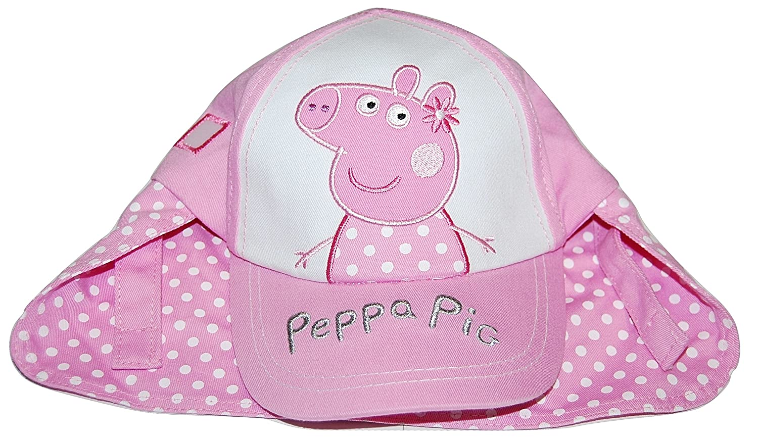 05f9566e303 Girls Peppa Pig Legionnaires Summer Sun Hat Cap 12-23 Months 2-4 Years (2-4  Years)  Amazon.co.uk  Clothing