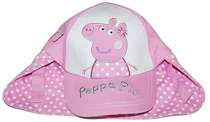 789443bc Girls Peppa Pig Legionnaires Summer Sun Hat Cap 12-23 Months 2-4 Years (2-4  Years): Amazon.co.uk: Clothing