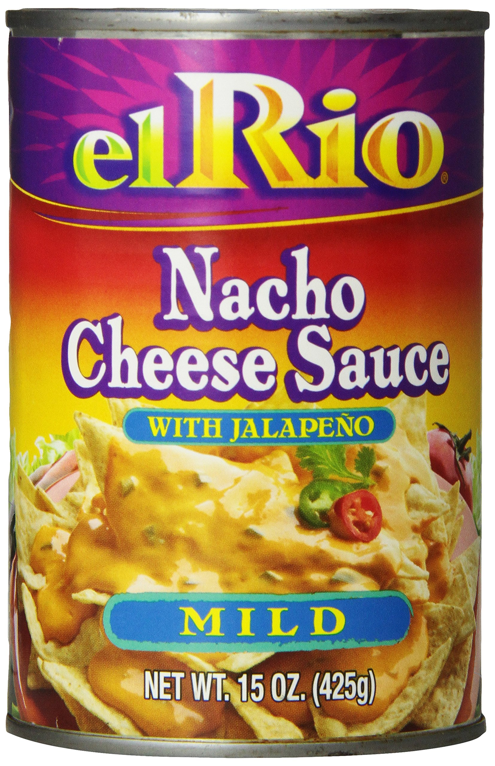 Amazon.com : El Rio Regular Nacho Cheese Sauce with Jalapeno Peppers 15-Ounce Units (Pack of 12