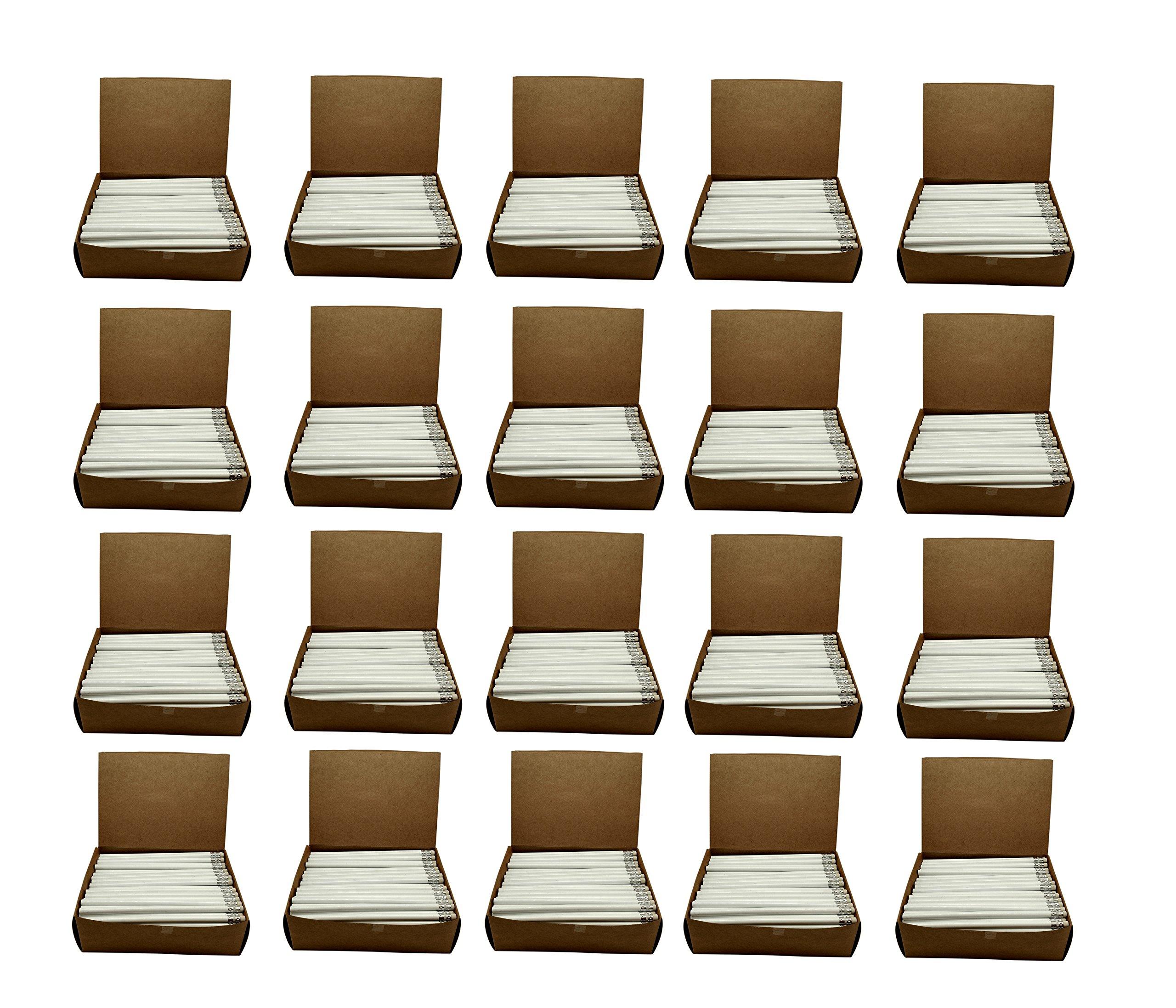 Impex Value Pencils - Round Wood #2 HB Pencils - 20 Gross 2880 pieces (Classroom Set - Wholesale Bulk Lot - Factory Direct)
