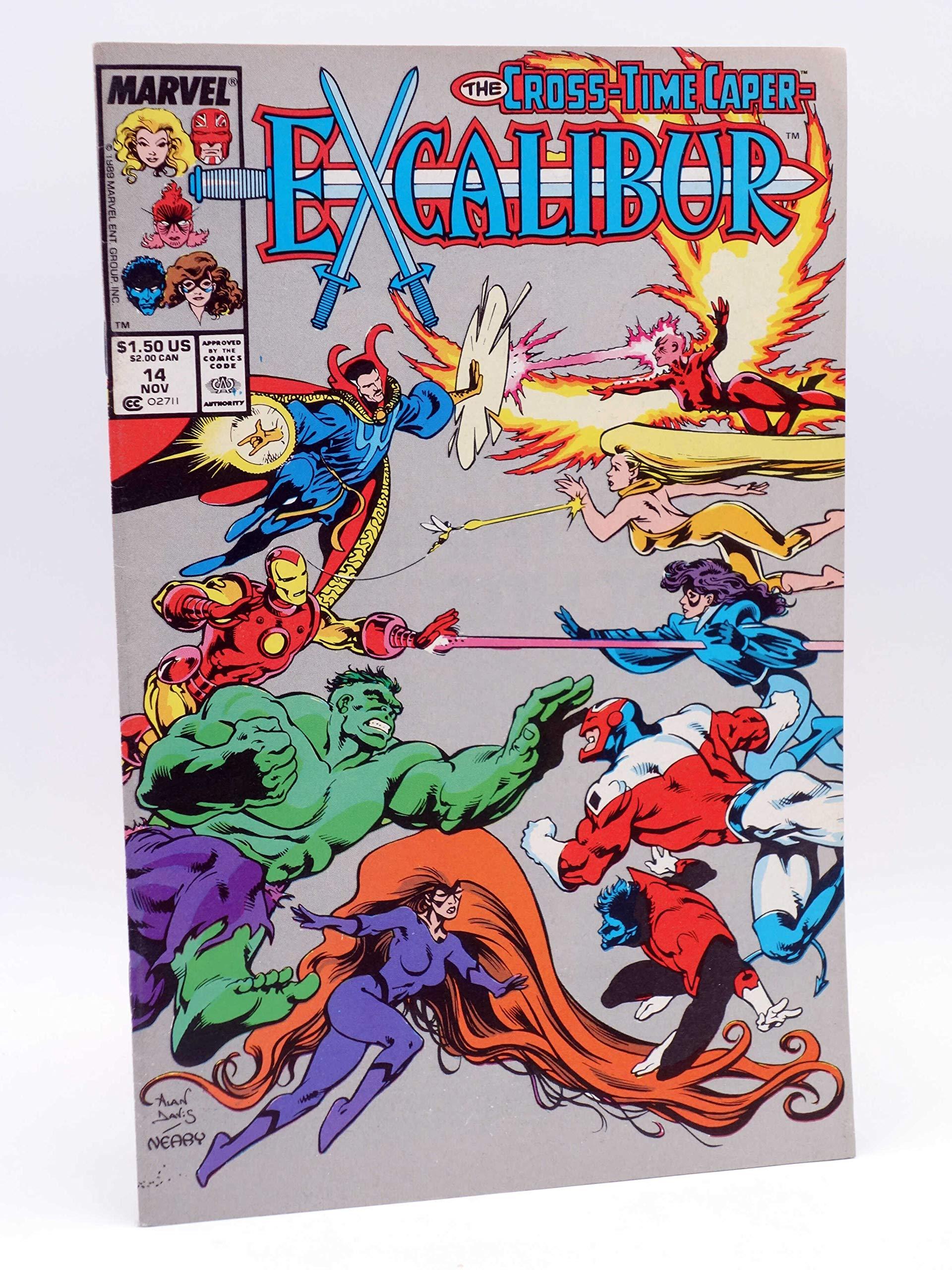 USA, 1989 Excalibur # 14 Alan Davis