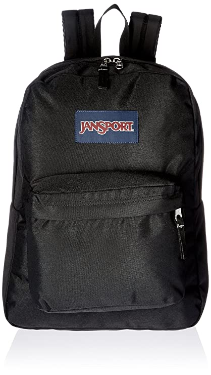0cf92c196 Amazon.com: JANSPORT SuperBreak Backpack, Black: Sports & Outdoors