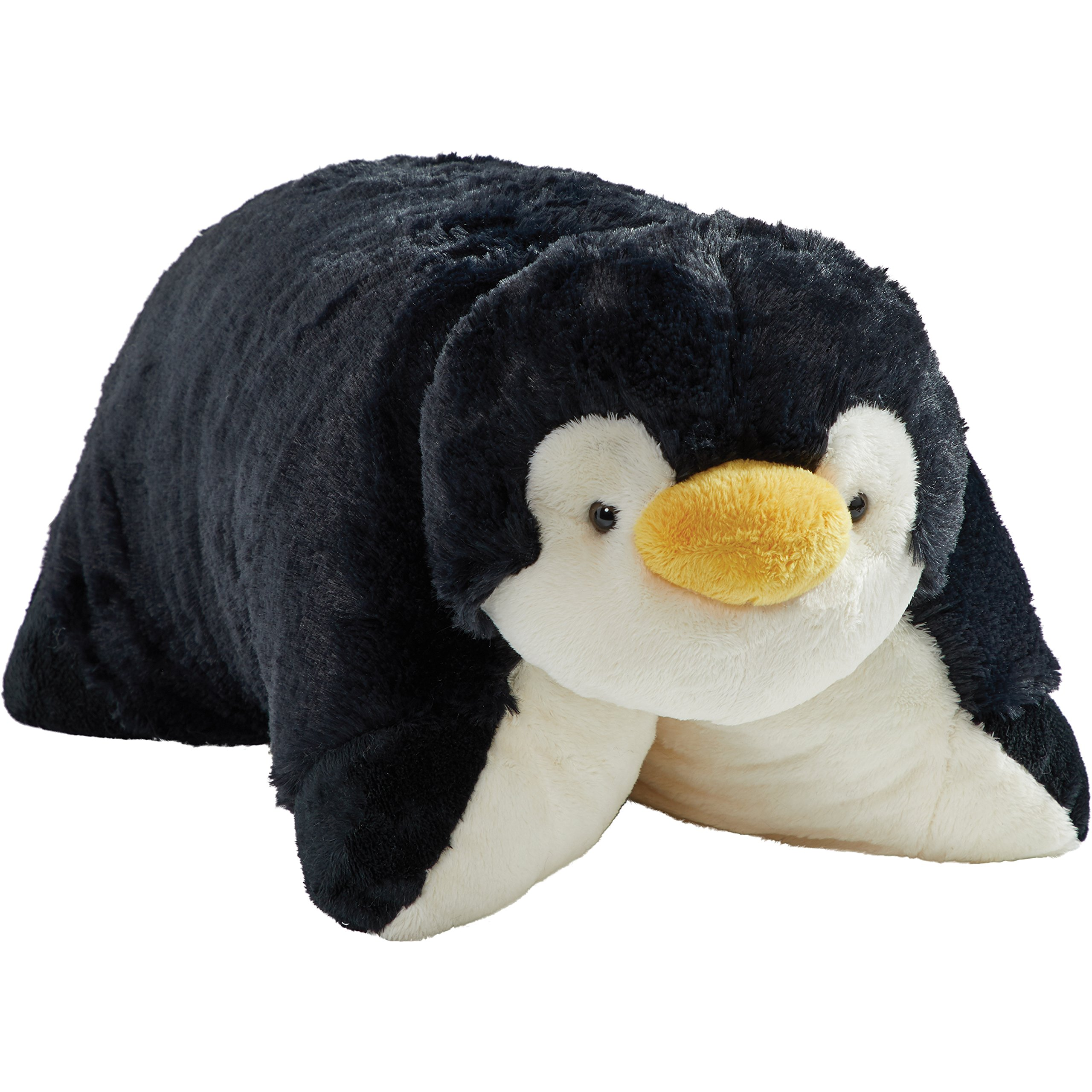 Pillow Pets Signature Stuffed Animal Plush Toy 18'', Playful Penguin