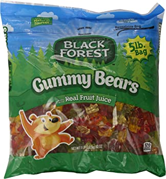 Black Forest Gummy Bears Bulk Candy Bag