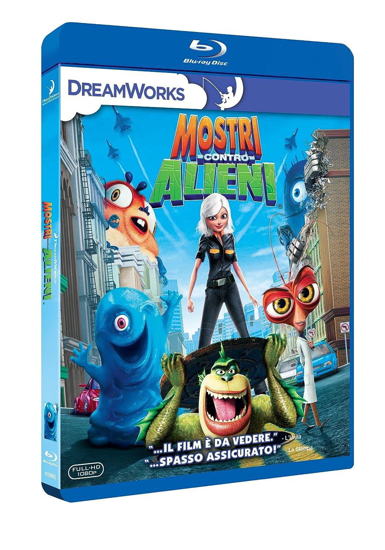 Amazon.com: Mostri Contro Alieni: animazione, conrad vernon ...