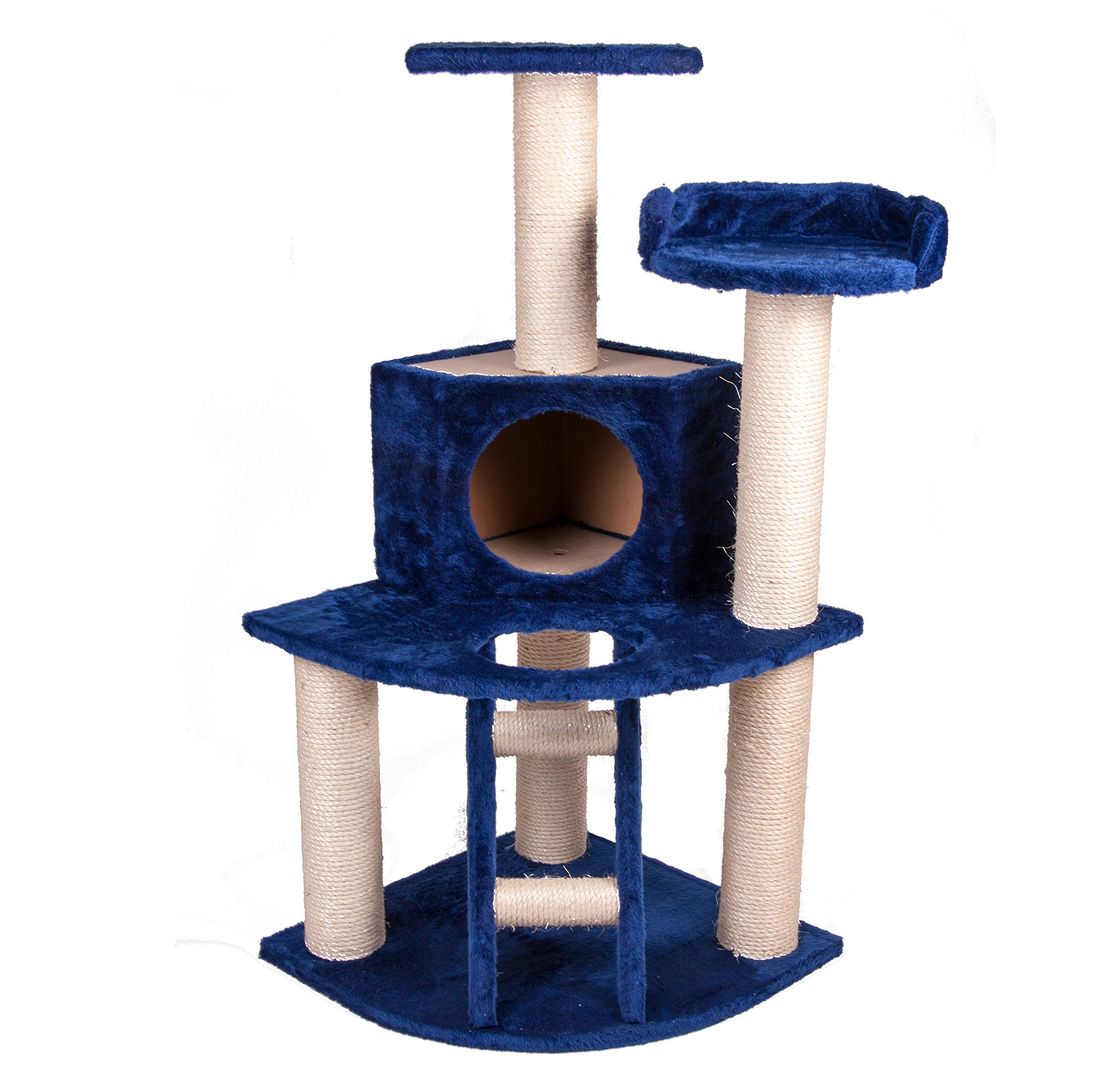 GoGo Pet Products Cat Tree House, 3.75-Inch