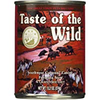 Taste of The Wild Grain Free Southwest Canyon Canine Formula Wet Cannes Stew Dog Food with Wild Boar 375grm