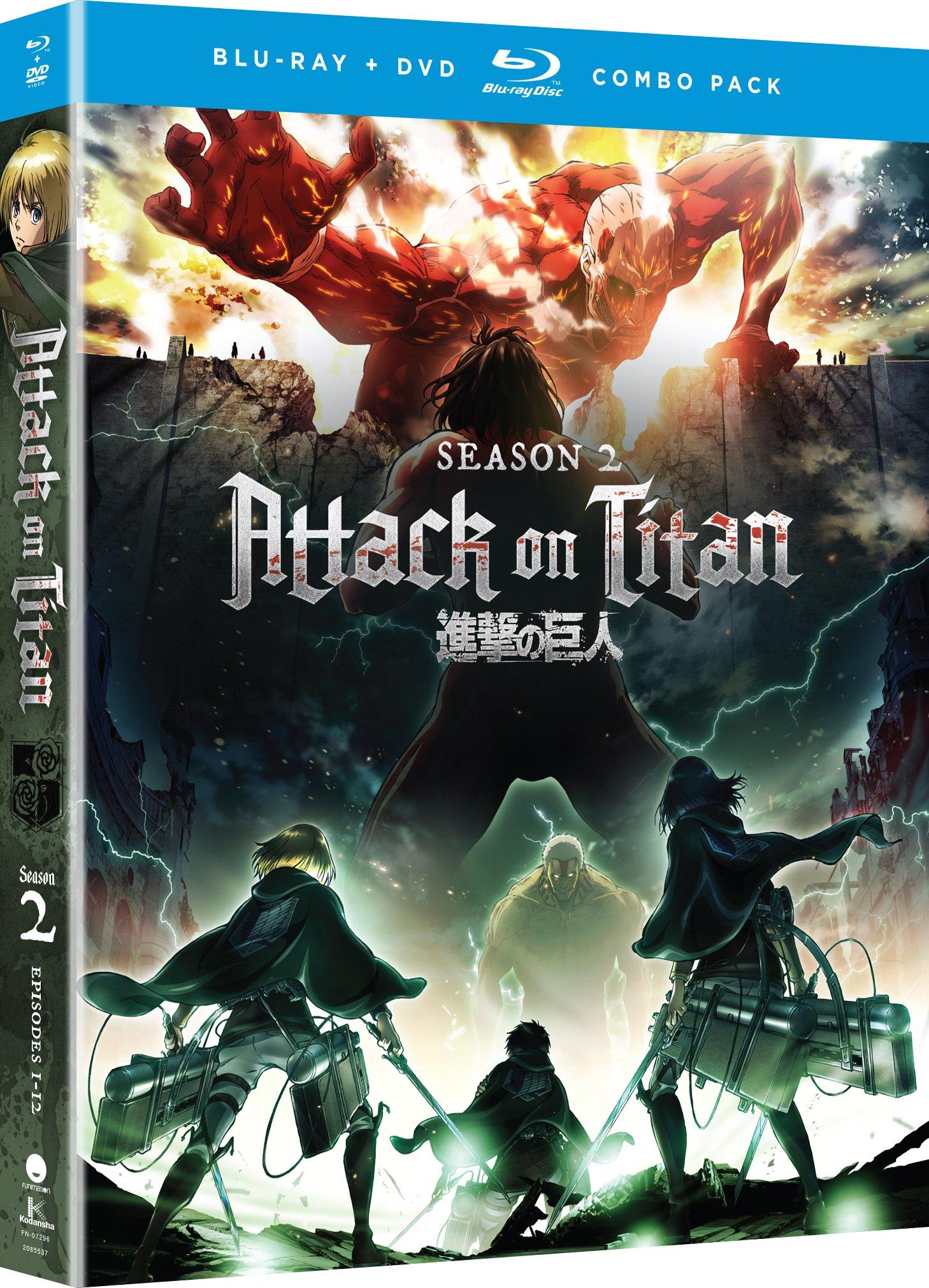 Attack on Titan: Season Two [Blu-ray]