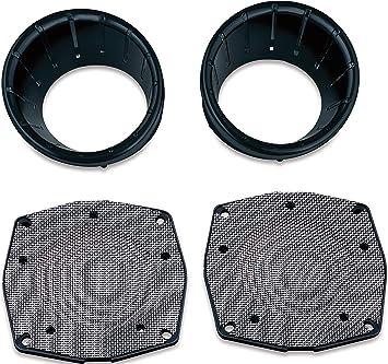 Speaker Bezels for Harley  Touring /& Trike Kuryakyn Chrome L.E.D