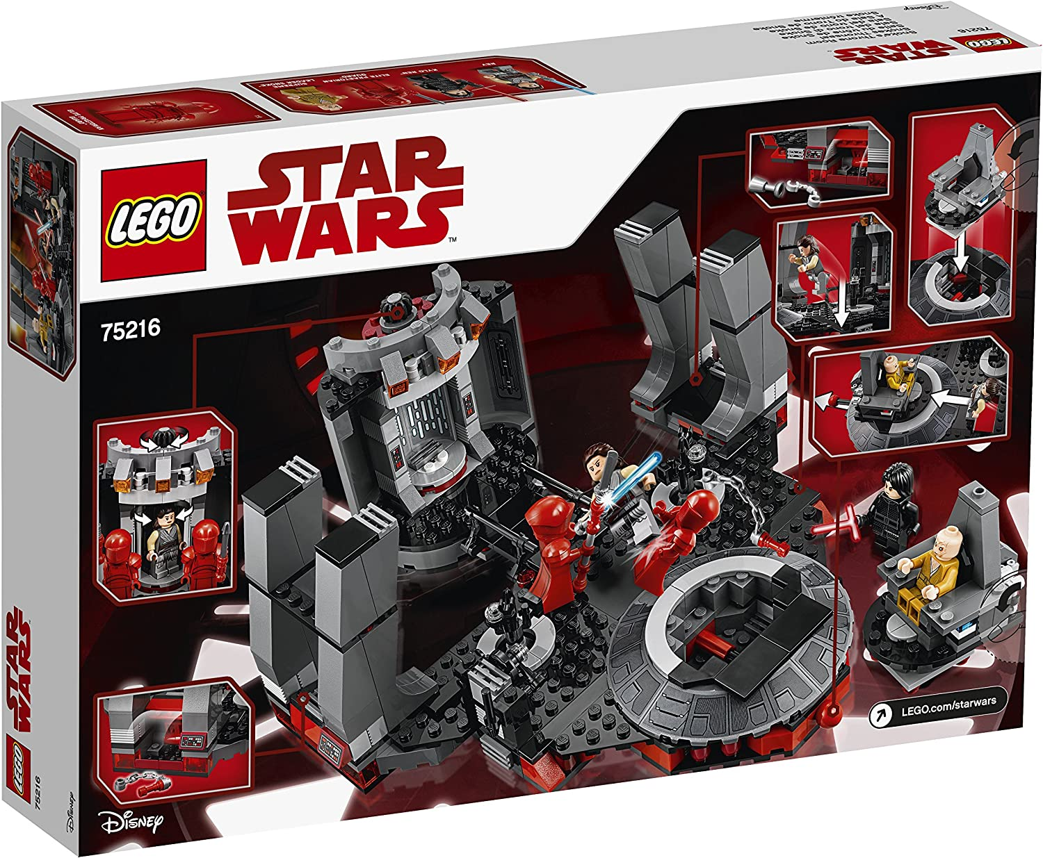 LEGO STAR WARS Supreme Leader Snoke  MINIFIG new from Lego set #75216 New
