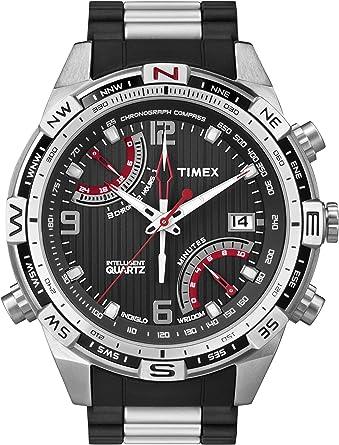 Amazon.com: Timex de los hombres t49868 inteligente cuarzo ...