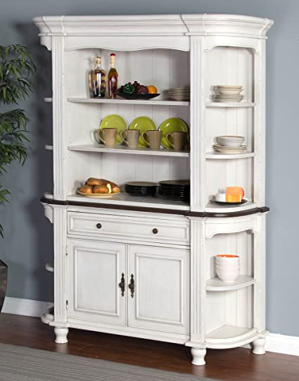 Attirant Sunny Designs Bourbon Country China Cabinet In French Country