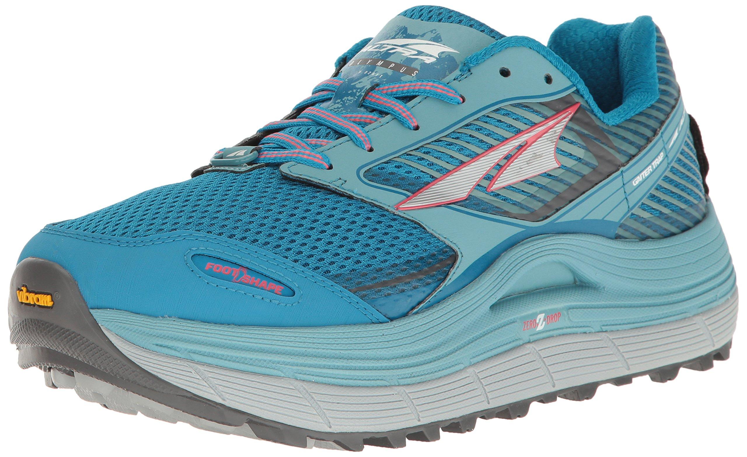 Altra Olympus 2.5 Women's Trail Running Shoe, Blue, 8