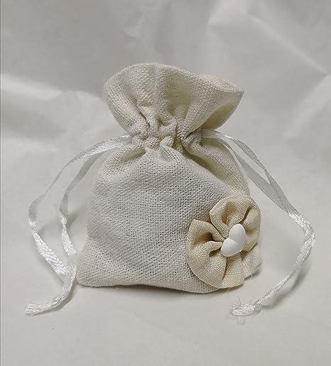 borsette portaconfetti in tessuto