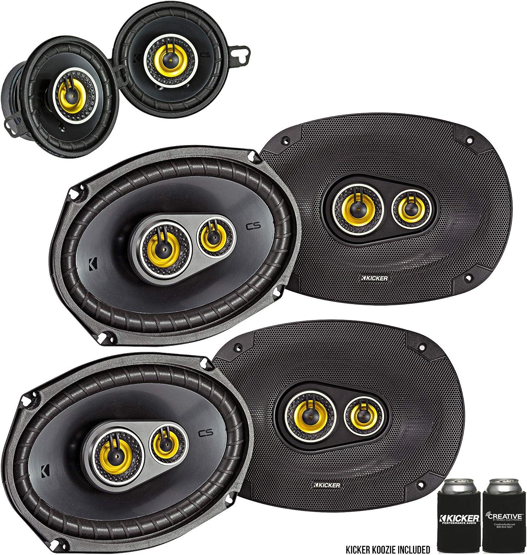 Amazon Com Kicker Dodge Ram Crew Cab 2012 Up Speaker Bundle 2 Pairs Of Cs 6x9 Speakers A Pair Of Cs 3 5 Speakers