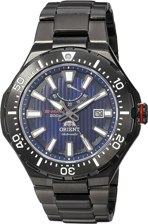 ORIENT(オリエント) 腕時計 自動巻き エムフォース M-FORCE パワーリザーブ 20気圧防水 SEL07001D0 ネイビー メンズ 海外モデル [並行輸入品]