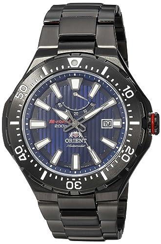 Orient M - fuerza Self - bobinado reloj para hombres sel07001d0 wv0141el azul marino: Amazon.es: Relojes