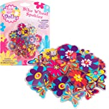 Ride Along Dolly Bike Wheel Spokies Flower Wheel Spoke Attachments (24 pcs - 12 Different Designs)