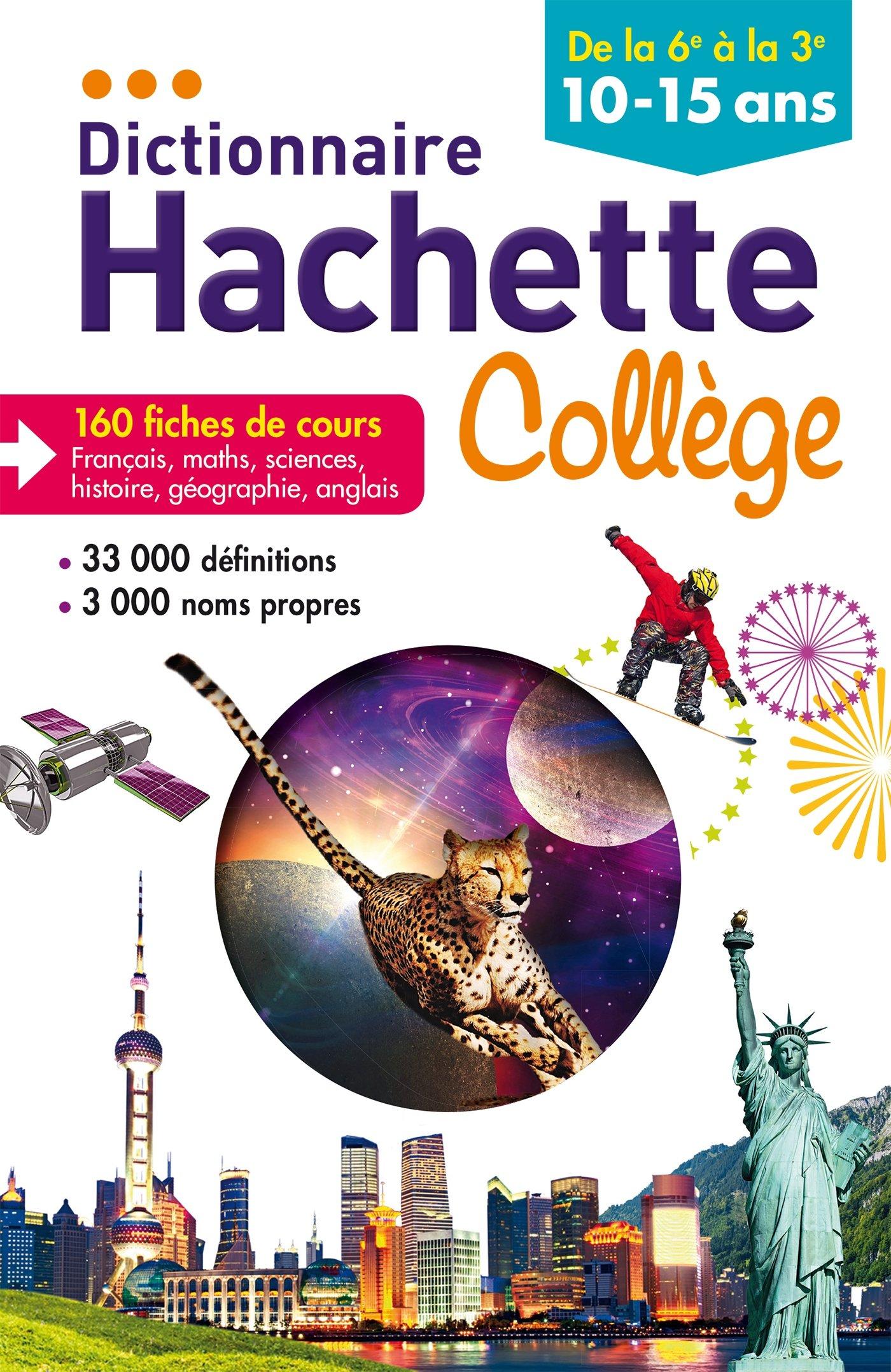 Amazon Fr Dictionnaire Hachette College Benedicte
