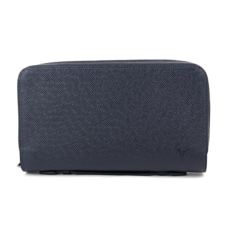 ルイヴィトン(Louis Vuitton) 長財布(ラウンドファスナー) M44276 タイガ ネイビーブルー [並行輸入品] B07DRGV1BK