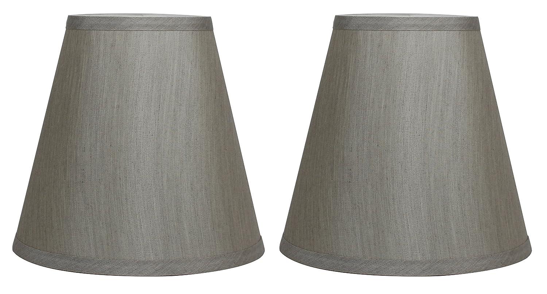 (Set of 2, Champagne) - Urbanest Hardback Silk Empire Lamp Shade 13cm by 23cm by 22cm , Set of 2, Champagne B01AMLBJEW Set of 2 シャンパン シャンパン Set of 2