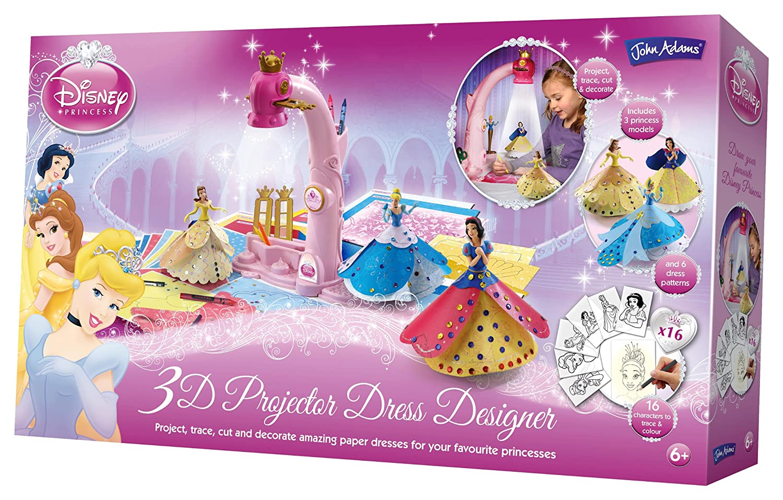 Disney 9438 Princesas Proyector 3D para diseñar Moda