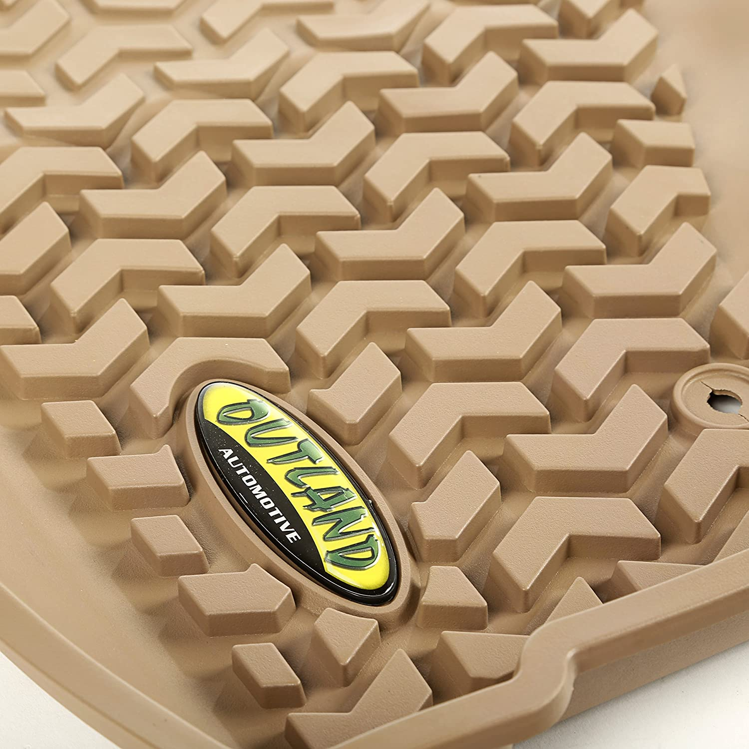 Outland 391295020 Black Second Row Floor Liner For Select Jeep Liberty Models