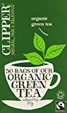 Clipper Organic Fairtrade Green 50 Teabags (Pack of 3, Total 150 Teabags)