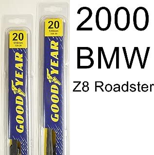 "product image for BMW Z8 Roadster (2000) Wiper Blade Kit - Set Includes 20"" (Driver Side), 20"" (Passenger Side) (2 Blades Total)"