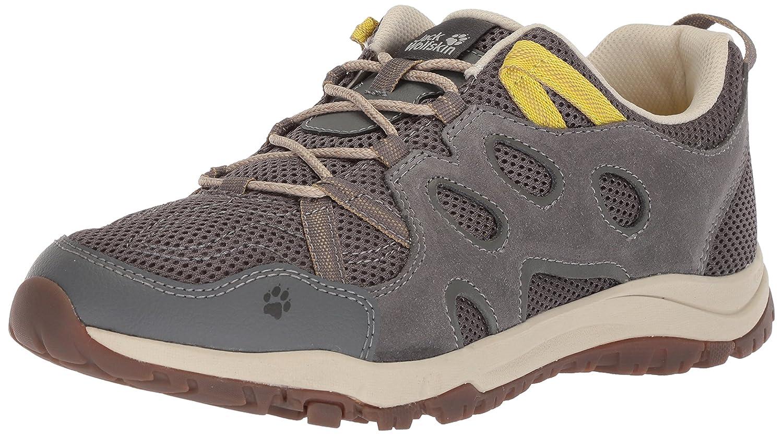 Jack Wolfskin Women's Rocksand Chill Low W Hiking Shoe B077XWZTS9 US Women's 8 D US|Tarmac Grey