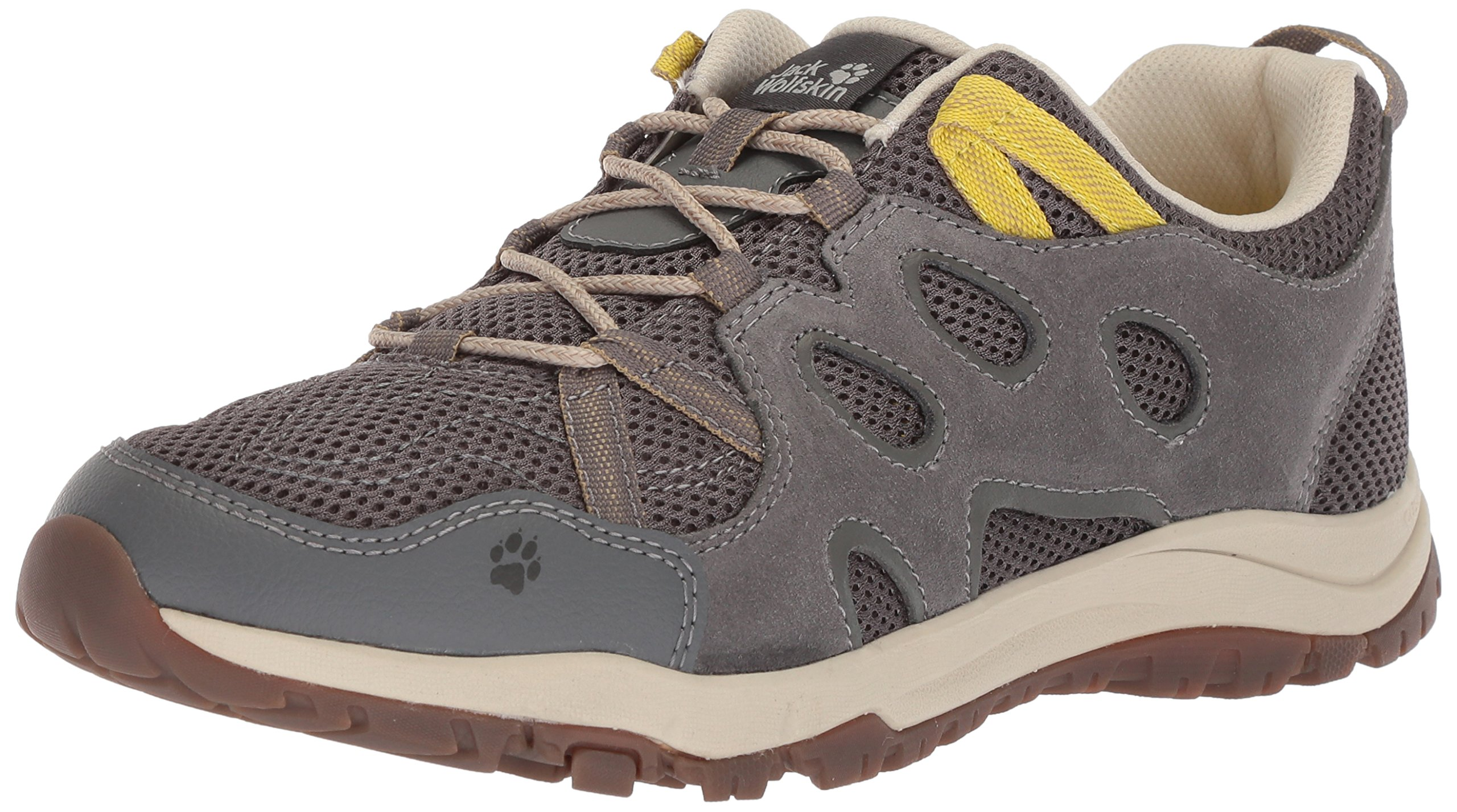 Jack Wolfskin Women's Rocksand Chill Low W Hiking Shoe, Tarmac Grey, US Women's 9 D US