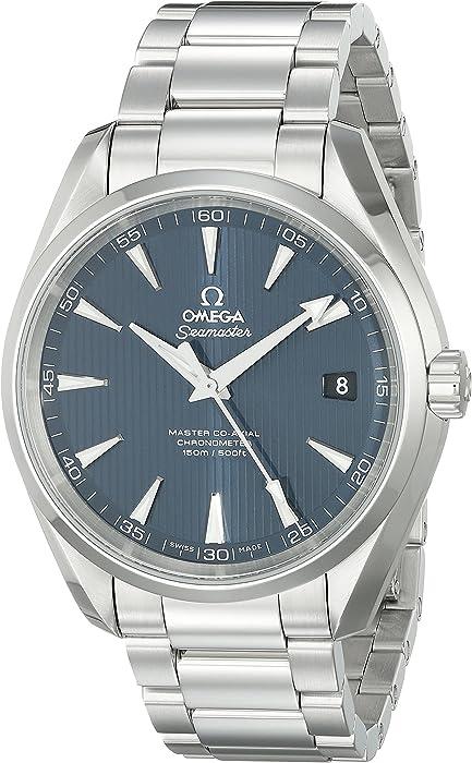 Amazon com: Omega Men's 23110422103003 Seamaster300 Stainless Steel