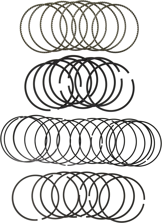 Hastings 2M5097040 8-Cylinder Piston Ring Set