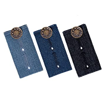 Amazon.com: Waistband Extenders by Johnson & Smith | Button ...