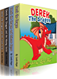 Children boxed sets: Derek The Dragon series collection: children boxed book sets