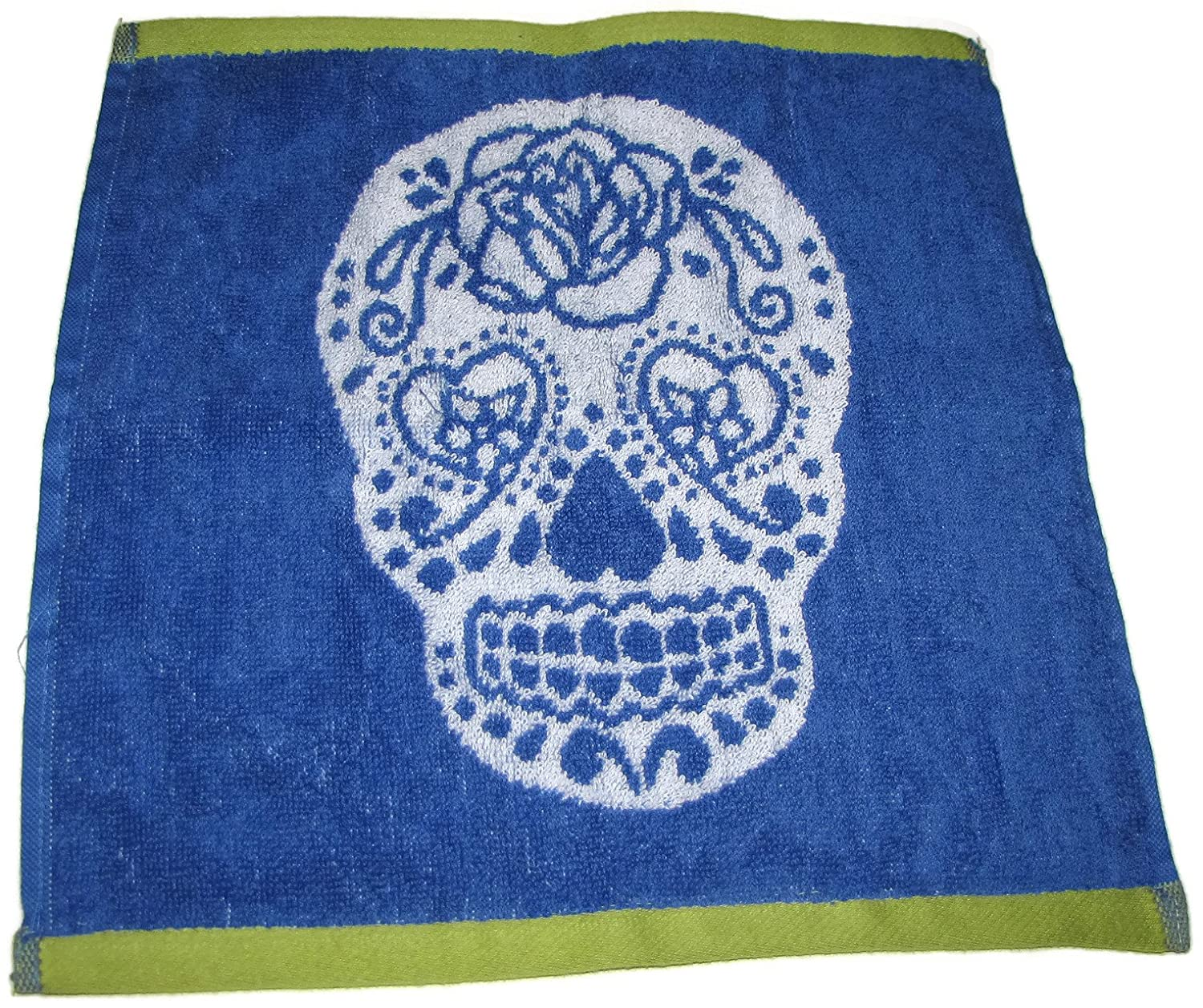 Amazon.com: Bundle Betsey Johnson Sugar Skull Blue/White/Lime Green ...