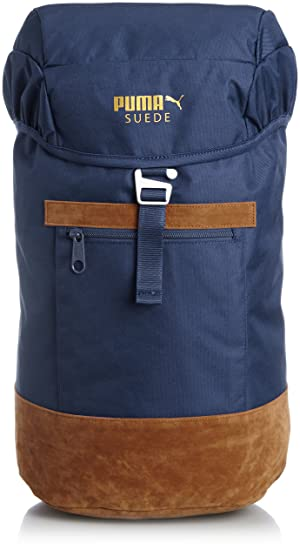 d270031d791 Puma Suede Backpack, Unisex, Rucksack Suede Backpack, peacoat ...