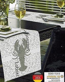 Amazon De Outdoor Tischlaufer St Tropez Aubergine Gartentisch