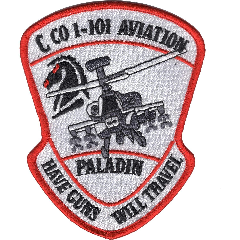 Amazon.com: 1st Squadron 101st Aviation Division C Company Patch: Clothing