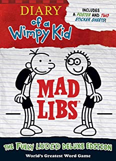 Amazon pressman toys diary of a wimpy kid 10 second challenge diary of a wimpy kid mad libs the fully lded deluxe edition solutioingenieria Images