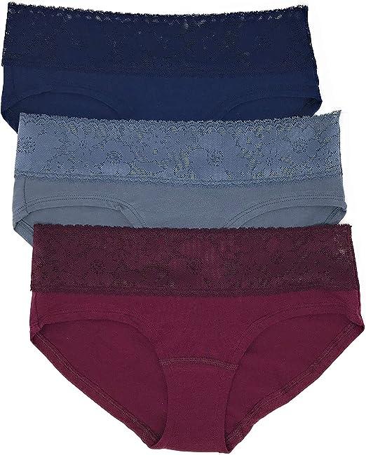 PINK By Victoria Secret Black Cotton Logo Bikini Panty Size Large L *NWT*