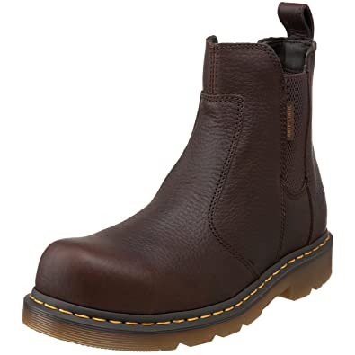 Amazon.com | Dr. Martens Men\'s Fusion Safety-Toe Chelsea Boot | Shoes