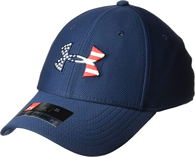 NEW Under Armour Men's Classic Fit Freedom Blitzing Cap Baseball Hat