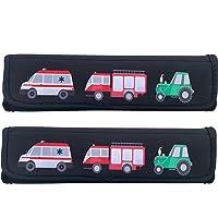2 x voiture Protection ceinture de sécurité ceinture épaule Coussin Siège de  voiture Coussin de ceinture 49f6b862efa