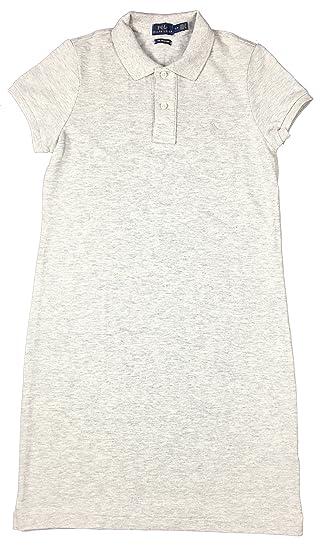 Polo Ralph Lauren Womens Mesh Mini Dress (X-Small, Light SPT Heather) 80a02d1808